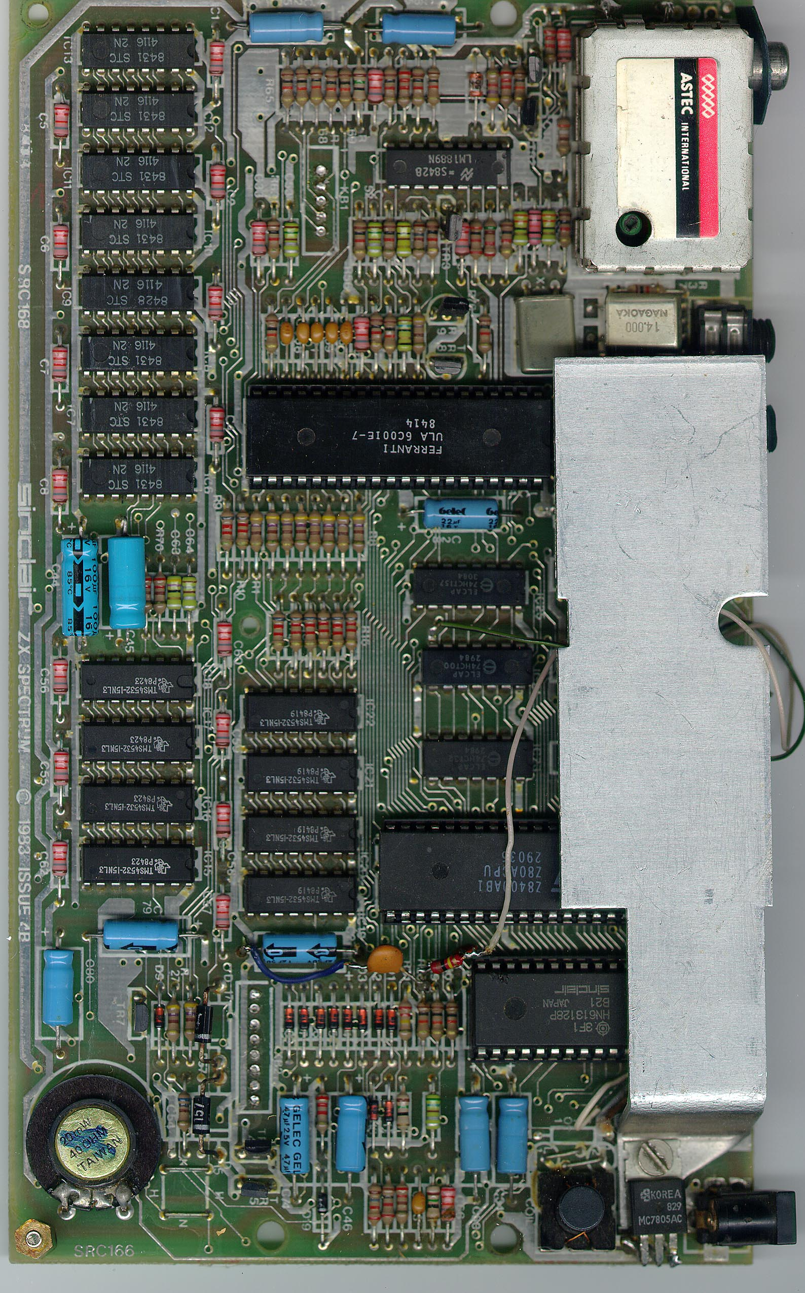 Zx Spectrum Do It Yourself Z80 Circuit Diagram Cool Pictures Sir Clive Trex